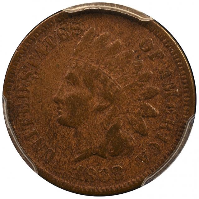 1868 1C Indian PCGS VF35
