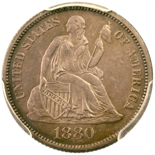1880 10C Legend PCGS PR63