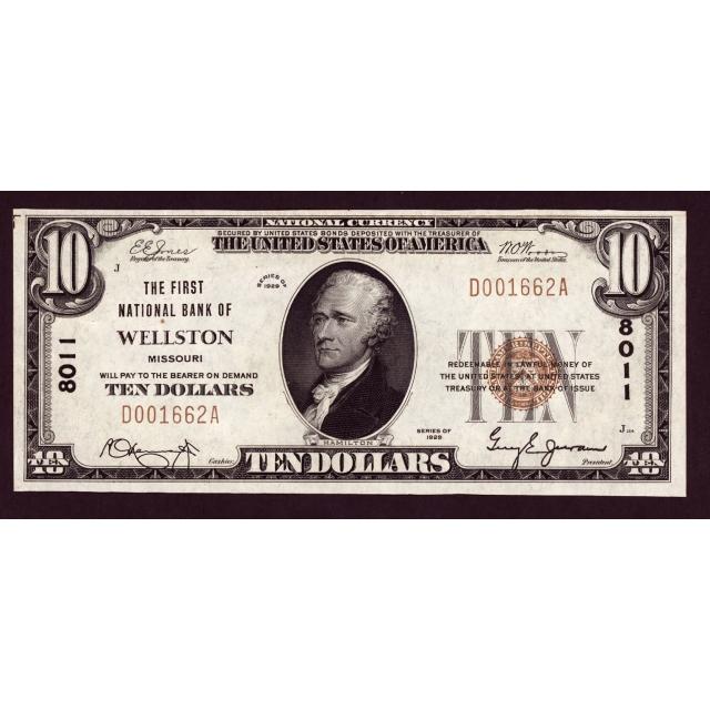 Wellston - Missouri - CH 8011 - FR 1801-1 - AU