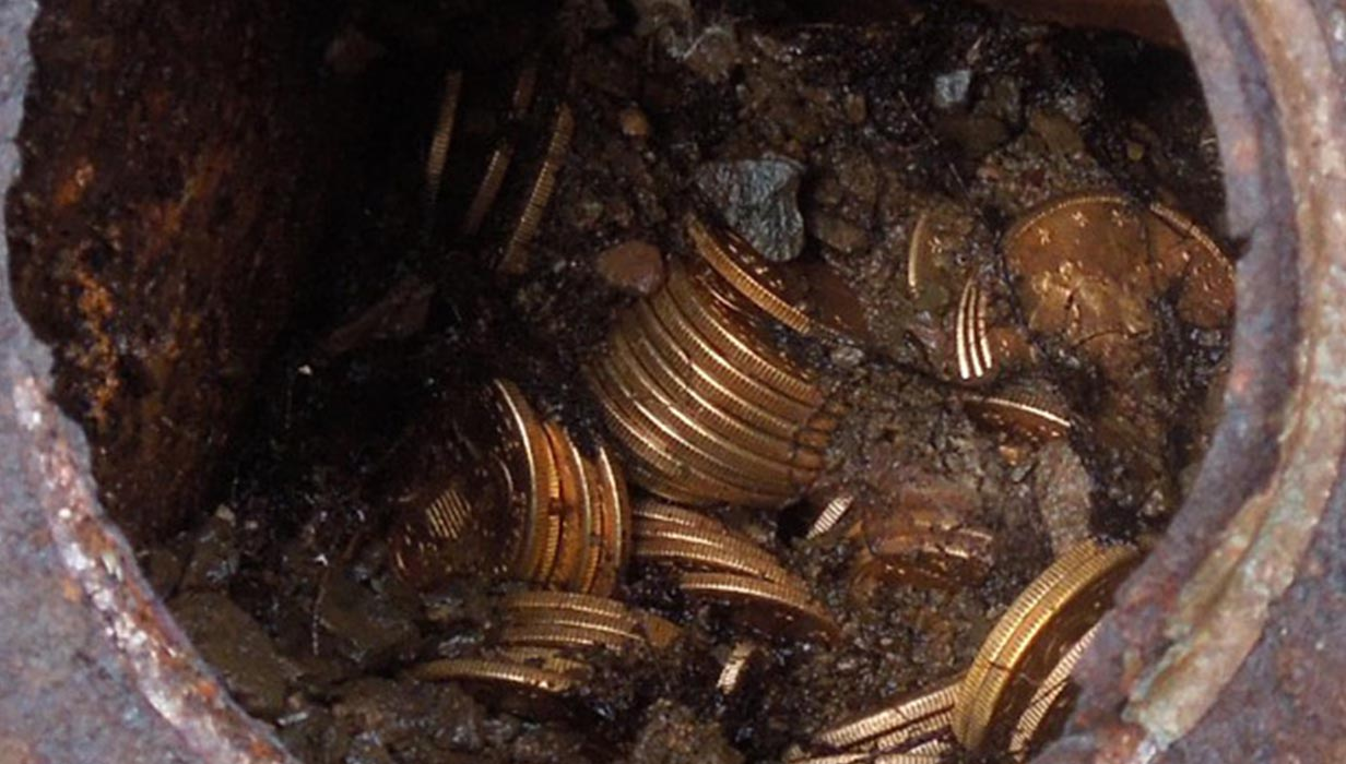CALIFORNIA FAMILY DISCOVERS BURIED TREASURE - HIDDEN CACHE OF 19TH CENTURY U.S. GOLD COINS MAY BE MOST VALUABLE HOARD UNEARTHED IN NORTH AMERICA